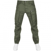 G Star Raw Rovic Tapered Trousers Green img