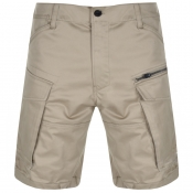 G Star Raw Rovic Loose Shorts Beige