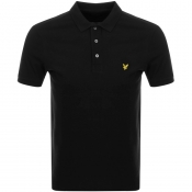 Lyle And Scott Polo T Shirt Black