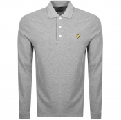 Product Image for Lyle And Scott Long Sleeved Polo T Shirt Grey