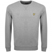 Lyle And Scott Crew Neck Sweatshirt Grey