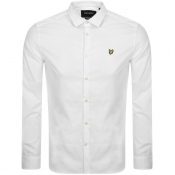 Product Image for Lyle And Scott Long Sleeve Poplin Shirt White