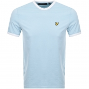 Lyle And Scott Ringer Crew Neck T Shirt Blue