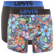 Levis 200SF Underwear 2 Pack Trunks Navy