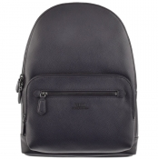 Ralph Lauren Leather Backpack Navy img
