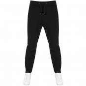 Product Image for Armani Exchange Logo Jogging Bottoms Black