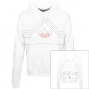 Product Image for adidas Originals Ewing Hoodie White
