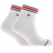 Product Image for Tommy Hilfiger Two Pack Iconic Socks White