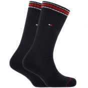 Product Image for Tommy Hilfiger Two Pack Iconic Socks Navy