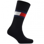 Product Image for Tommy Hilfiger Logo Flag Socks Navy