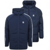 Adidas Originals Reversible Padded Jacket Navy
